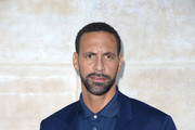 Rio Ferdinand attends the Louis Vuitton Menswear Fall/Winter 2017-2018 show as part of Paris Fashion Week on January 19, 2017 in Paris, France.