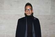 Hidetoshi Nakata attends the Louis Vuitton show as part of the Paris Fashion Week Womenswear  Spring/Summer 2018 on October 3, 2017 in Paris, France.