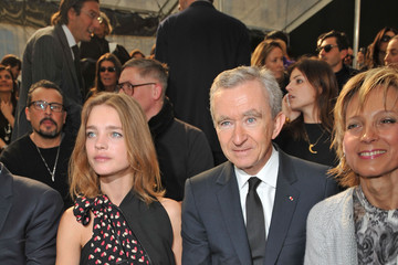 Natalia Vodianova Bernard Arnault Louis Vuitton - PFW - Ready To Wear - Fall/Winter 2011 - Front Row