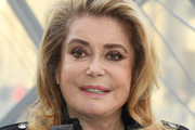 Catherine Deneuve attends the Louis Vuitton show as part of the Paris Fashion Week Womenswear Fall/Winter 2019/2020  on March 05, 2019 in Paris, France.