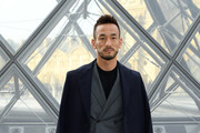 Hidetoshi Nakata attends the Louis Vuitton show as part of the Paris Fashion Week Womenswear Fall/Winter 2019/2020  on March 05, 2019 in Paris, France.