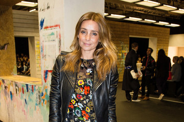 Louise Redknapp Front Row & Arrivals: Day 3 - LFW February 2017