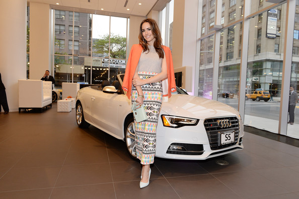 Louise Roe Photos Photos Audi And Volkswagen Dealership Opens In
