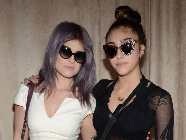 Madonna's Daughter Lourdes Goes Green – With Her Hair, That Is ...