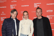 """Writer Whit Stillman, actress Chloë Sevigny and Roy Price attend the """"Love & Friendship"""" Premiere during the 2016 Sundance Film Festival at Eccles Center Theatre on January 23, 2016 in Park City, Utah."""