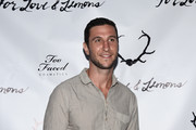Actor Pablo Schreiber attends For Love and Lemons annual SKIVVIES party co-hosted by Too Faced and performance by The Shoe at The Carondelet House on July 31, 2014 in Los Angeles, California.