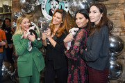 Victoria Justice, Hilary Duff, Whitney Cummings, Maria Menounos and Olivia Munn attends Love Leo Rescue's 2nd Annual Cocktails for a Cause at Rolling Greens Los Angeles on November 06, 2019 in Los Angeles, California.