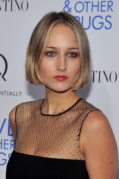 "Actress Leelee Sobieski attends a screening of ""Love & Other Drugs"" at DGA Theater on November 16, 2010 in New York City."