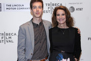 "Babe Howard and Debra Winger attend the ""The Lovers"" premiere at BMCC Tribeca PAC on April 22, 2017 in New York City."