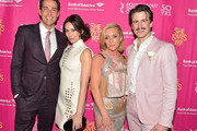 "Zachary Levi, Laura Benanti, Jane Krakowski and Gavin Creel attend ""She Loves Me"" Broadway Opening Night at Studio 54 on March 17, 2016 in New York City."
