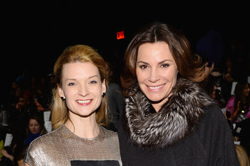LuAnn de Lesseps Front Row at the Carmen Marc Valvo Show