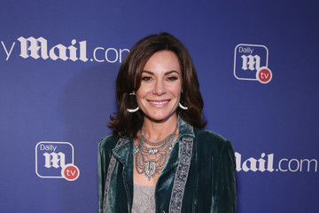 LuAnn de Lesseps DailyMail.com And DailyMailTV Holiday Party