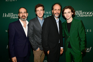 Luca Guadagnino Timothee Chalamet The Hollywood Reporter 6th Annual Nominees Night - Red Carpet