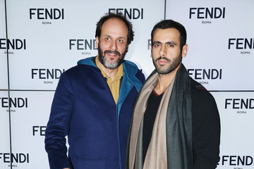 Luca Guadagnino Front Row at the Fendi Runway Show