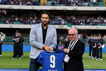 Luca Toni Italy v Finland - International Friendly