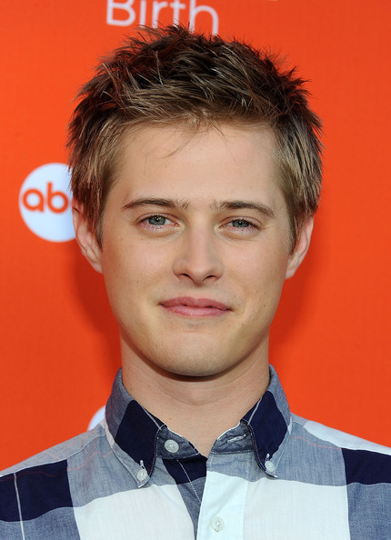 ... switched at birth and book launch party in this photo lucas grabeel