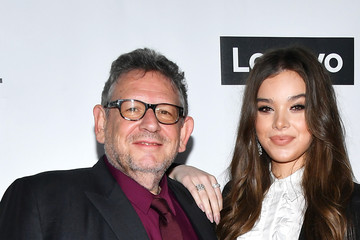 Lucian Grainge Hailee Steinfeld 2020 Getty Entertainment - Social Ready Content