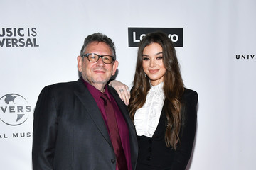 Lucian Grainge Hailee Steinfeld Universal Music Group's 2020 Grammy After Party Presented By Lenovo
