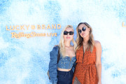 Marta Pozzan and Brandi Cyrus attend Lucky Brand And Rolling Stone Live Present Desert Jam at ARRIVE Hotel on April 13, 2019 in Palm Springs, California.