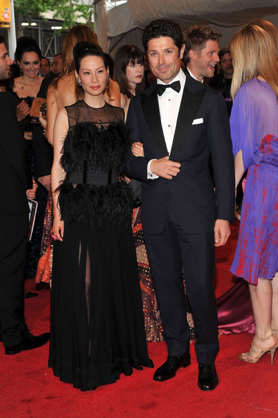 Lucy Liu and will mccormack