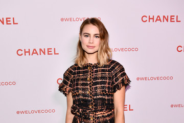 Lucy Fry Chanel Party to Celebrate the Chanel Beauty House and @WELOVECOCO