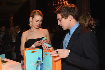 Lucy Fry The Weinstein Company and Netflix Golden Globe Party, Presented With FIJI Water, Grey Goose Vodka, Lindt Chocolate, and Moroccanoil - Inside