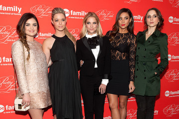 Lucy Hale Shay Mitchell 'Pretty Little Liars' Screening in NYC