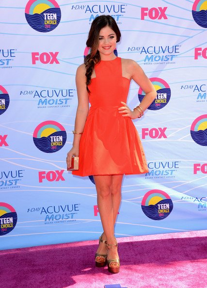 Lucy Hale - Teen Choice Awards 2012 - Arrivals