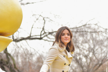 Lucy Hale Annual Macy's Thanksgiving Day Parade Delights Spectators In NYC