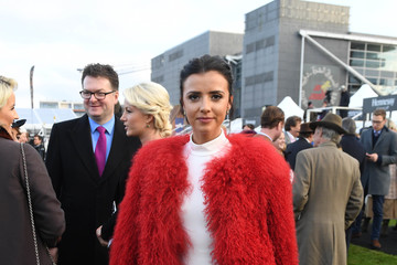 Lucy Mecklenburgh The Duchess of Cornwall Attends the 60th Hennessy Gold Cup