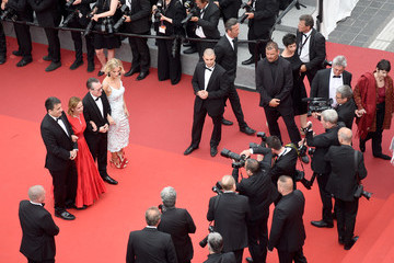 Lucy Walker 'Amant Double (L'Amant Double')' Red Carpet Arrivals - The 70th Annual Cannes Film Festival
