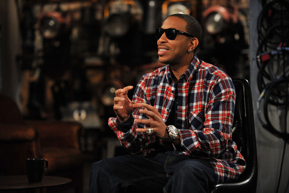 Recording artist and actor Ludacris appears on fuse TV at fuse Studios on February 25, 2010 in New York City.
