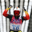 German Felix Loch successfully defended his gold in Men's Luge.
