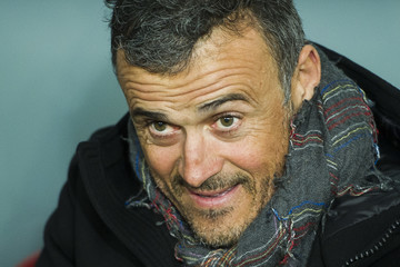 Luis Enrique Athletic Club v Barcelona - Copa del Rey: Round of 16 First Leg