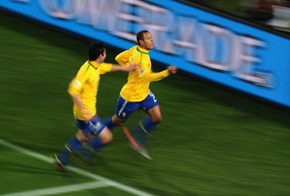 Brazil v Chile: 2010 FIFA World Cup - Round of Sixteen