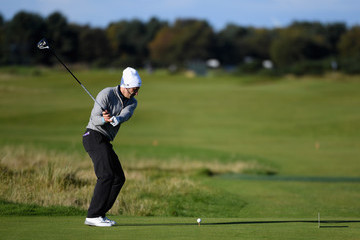 Luis Figo Alfred Dunhill Links Championship - Day One