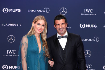 Luis Figo Red Carpet - 2019 Laureus World Sports Awards - Monaco
