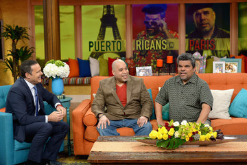 Luis Guzman Celebrities On The Set Of Univisions 'Despierta America'
