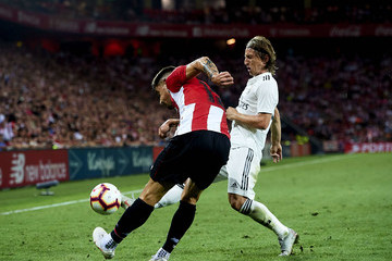 Luka Modric Athletic Club vs. Real Madrid CF - La Liga