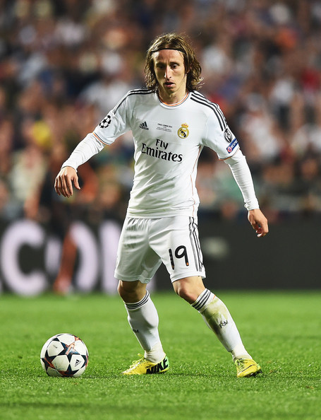 Luka Modric Pictures Real Madrid V Atletico De Madrid