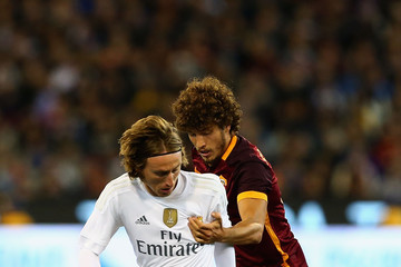Luka Modric Real Madrid vs Roma