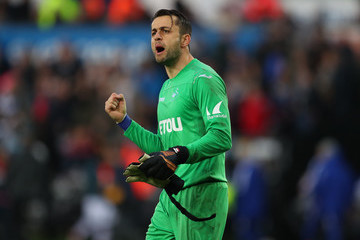 Lukasz Fabianski Swansea City vs. Chelsea - Premier League