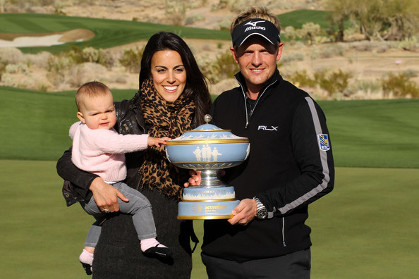 luke donald golf. Luke Donald and Elle Donald