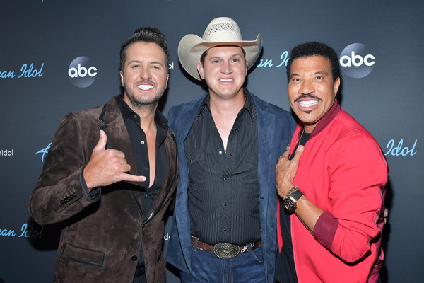 ABC's 'American Idol' - May 19, 2019 - Finale - Arrivals [american idol,event,performance,facial hair,fashion accessory,smile,premiere,arrivals,jon pardi,luke bryan,lionel richie,california,los angeles,abc,american idol finale]