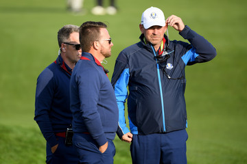 Luke Donald 2018 Ryder Cup - Afternoon Foursome Matches