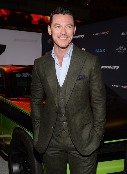 Luke Evans Photos Photos - 'Furious 7' Los Angeles ...