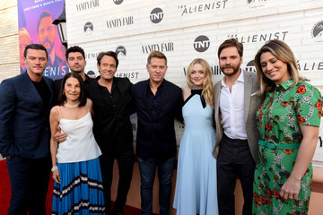 Luke Evans Sarah Aubrey Emmy For Your Consideration Red Carpet Event For TNT's 'The Alienist' - Red Carpet