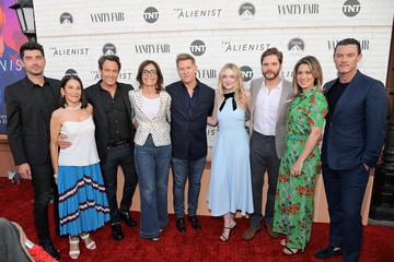 Luke Evans Sarah Aubrey 'The Alienist' - Los Angeles For Your Consideration Event