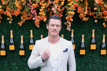 Luke Evans The Tenth Annual Veuve Clicquot Polo Classic - Arrivals