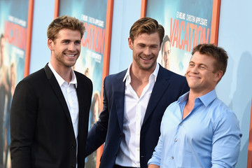Luke Hemsworth Premiere of Warner Bros. 'Vacation' - Red Carpet